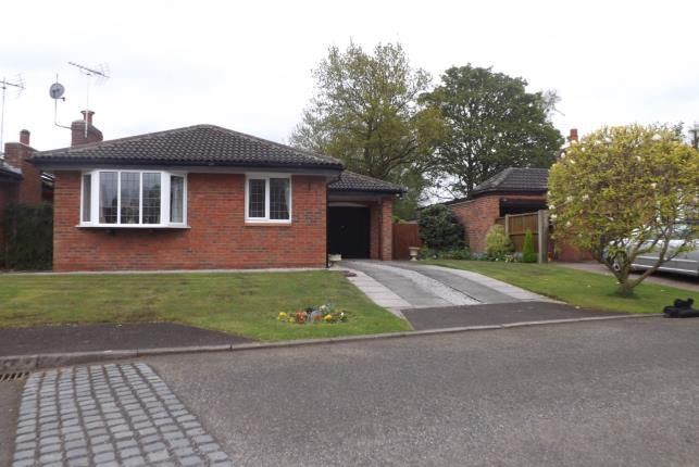 Thumbnail Bungalow for sale in Harpur Crescent, Alsager, Stoke-On-Trent, Cheshire