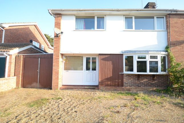 Thumbnail Semi-detached house to rent in Antrim Road, Woodley, Reading