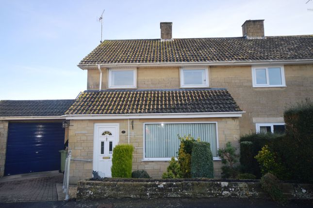 Thumbnail Semi-detached house for sale in Queen Elizabeth Road, Cirencester