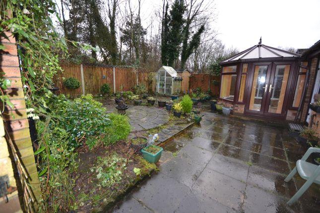 Rear Garden of Pendine Close, Callands, Warrington WA5