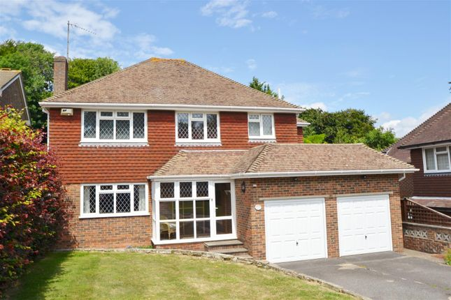 Thumbnail Detached house for sale in The Combe, Eastbourne