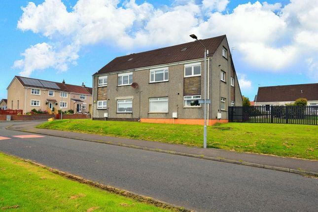 Thumbnail Flat for sale in Dunottar Avenue, Coatbridge