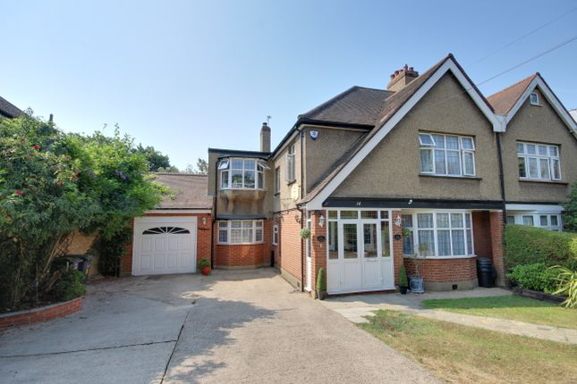 Thumbnail Semi-detached house for sale in Chaseville Park Road, Winchmore Hill