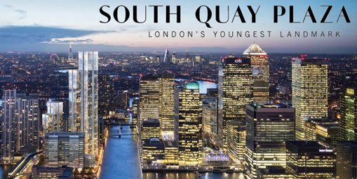 Thumbnail Flat for sale in South Quay Plaza, 183-185 Marsh Wall, Canary Wharf, London