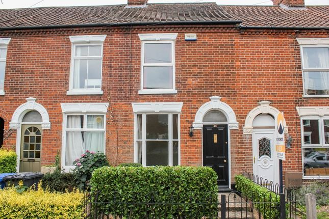 Thumbnail Terraced house to rent in Leopold Road, Norwich