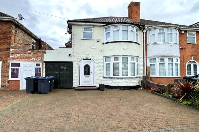Thumbnail Semi-detached house for sale in Maryland Avenue, Hodge Hill, Birmingham