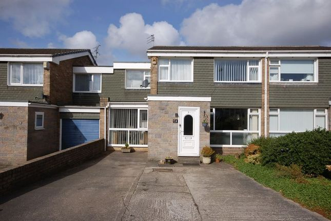 Thumbnail Semi-detached house for sale in Balroy Court, Forest Hall, Newcastle Upon Tyne