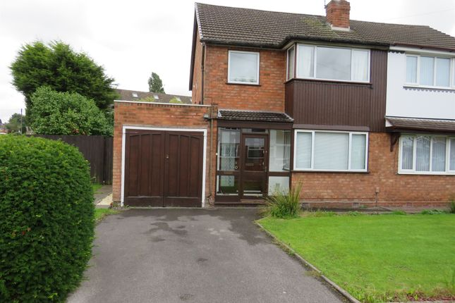 Thumbnail Semi-detached house for sale in Buckingham Drive, Willenhall