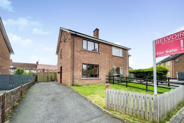 Thumbnail Semi-detached house for sale in Sandymount Close, Lisburn