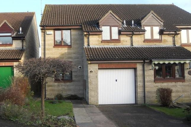 Thumbnail Semi-detached house to rent in Priory Mead, Bruton