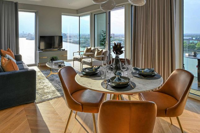 Thumbnail Flat for sale in Compass Wharf, Royal Arsenal Riverside