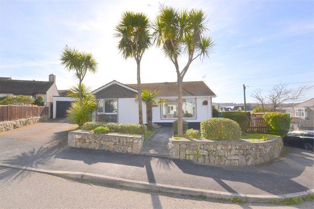 Thumbnail Detached bungalow for sale in Headland Close, Carbis Bay, St Ives