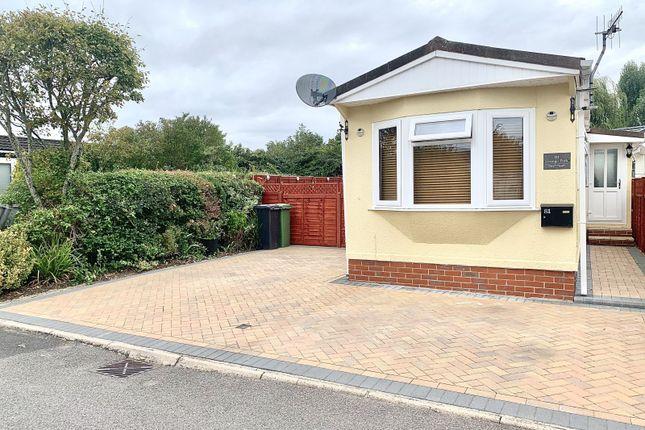 Thumbnail Property for sale in Grange Park Mobile Homes, Shamblehurst Lane South, Hedge End