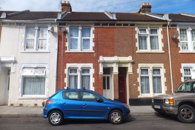 Thumbnail Terraced house to rent in Haslemere Road, Southsea, Portsmouth, Hampshire