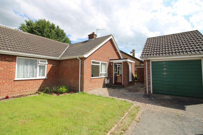 Thumbnail Semi-detached bungalow for sale in Clarkson Road, Lingwood, Norwich