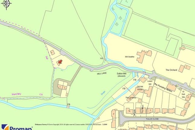 Thumbnail Land for sale in Mill Lane, Sutton Courtenay, Abingdon
