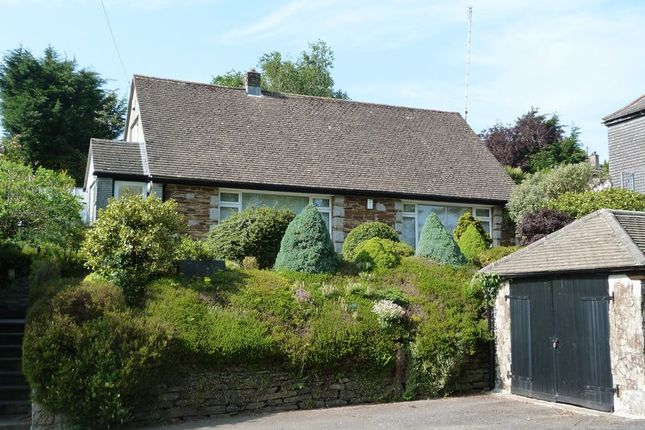 Thumbnail Detached bungalow for sale in New Road, Liskeard