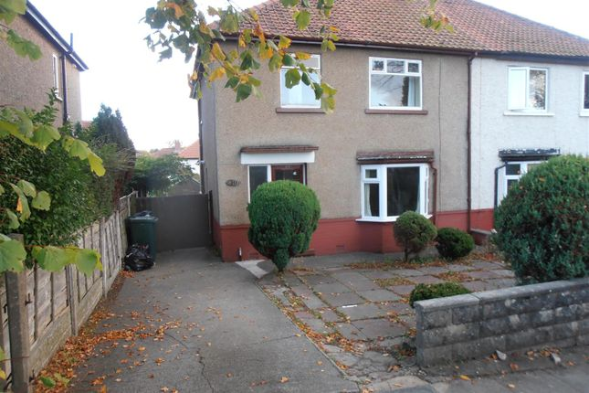 Thumbnail Semi-detached house to rent in Rutland Avenue, Lancaster