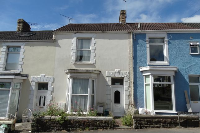 Thumbnail Terraced house to rent in Victoria Terrace, Swansea