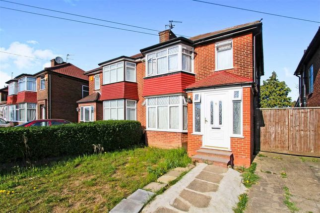 Thumbnail Semi-detached house for sale in Lamorna Grove, Stanmore