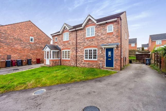 Thumbnail Semi-detached house for sale in Wagstaffe Close, Blackburn, Lancashire, .