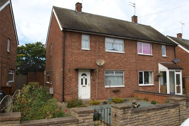 Thumbnail Semi-detached house for sale in Holts Lane, Tutbury, Burton-On-Trent, Staffordshire