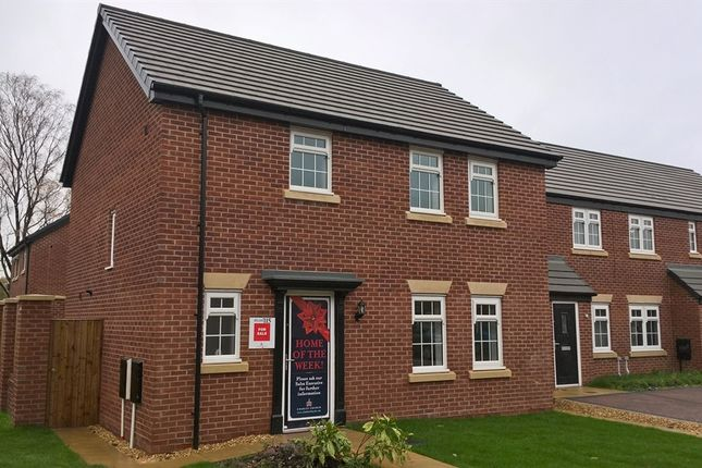 "Thumbnail Detached house for sale in ""Burgess "" at D'urton Lane, Broughton, Preston"