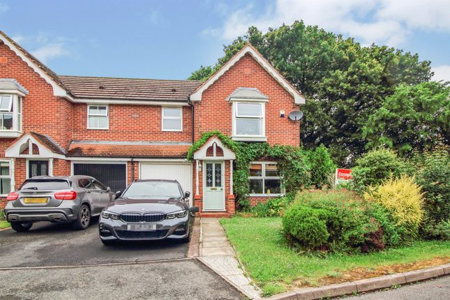 Thumbnail End terrace house for sale in Pickering Green, Berkeley Pendesham, Worcester
