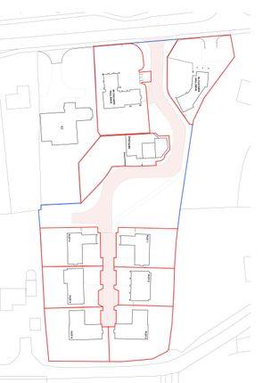 Site Plan of Culcheth Hall Drive, Culcheth, Warrington WA3
