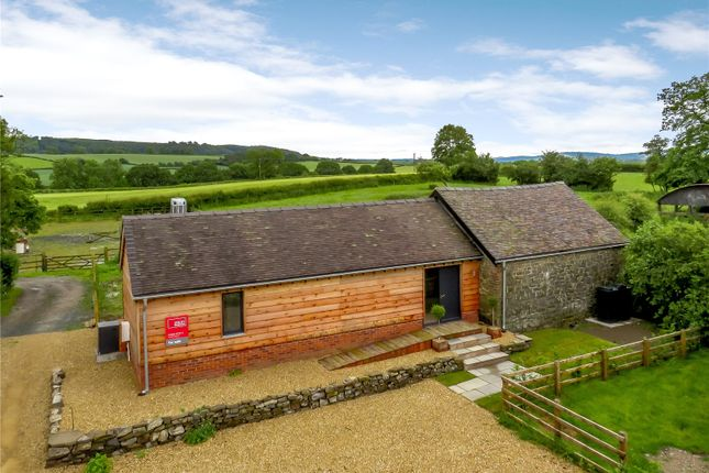 Thumbnail Bungalow for sale in Crowsmoor Farm, Aston-On-Clun, Craven Arms, Shropshire