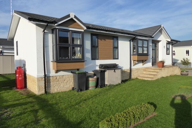 Thumbnail Mobile/park home for sale in Yarwell Mill Park, Yarwell, Northamptonshire