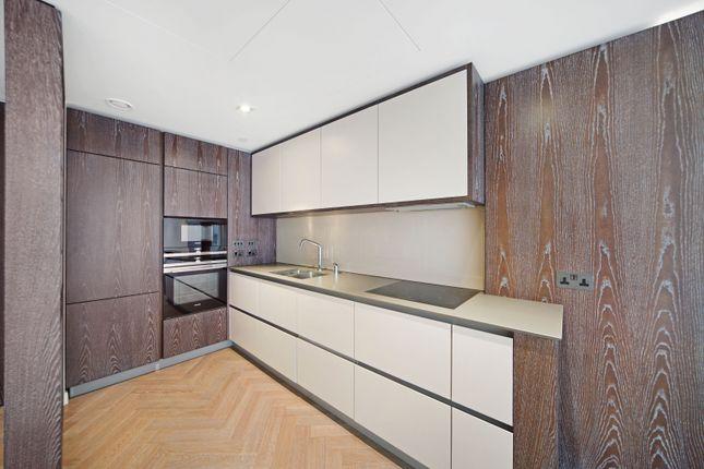 Kitchen of Bessborough House, Battersea Power Station, London SW11