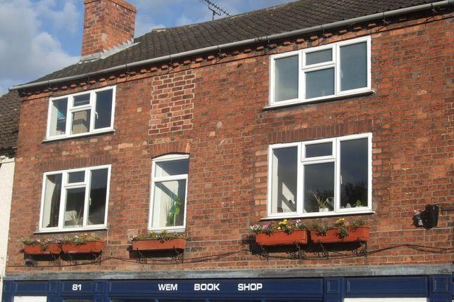 Thumbnail Flat for sale in High Street, Wem, Shrewsbury