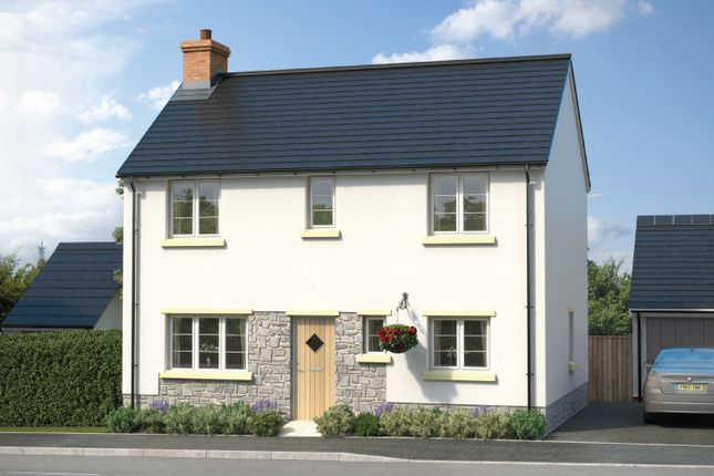 Thumbnail Semi-detached house for sale in Plot 46, Ladywell Meadows, Chulmleigh