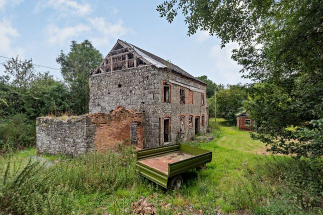 Thumbnail Land for sale in Aberhafesp, Newtown, Powys