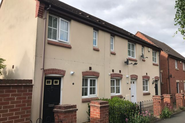 Thumbnail End terrace house to rent in Saville Close, Wellington, Telford