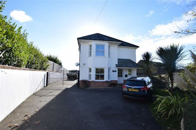Thumbnail Detached house for sale in Poughill Road, Bude