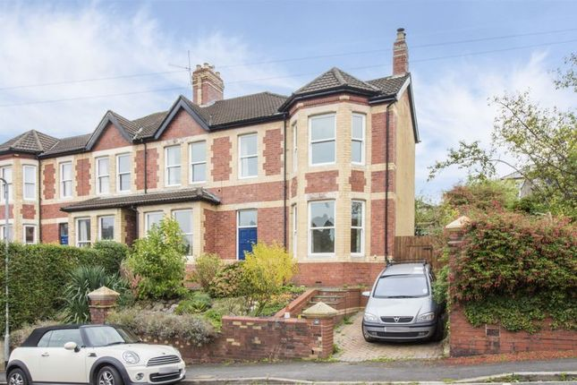 Thumbnail Semi-detached house to rent in Llanthewy Road, Newport