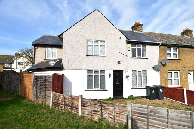 Thumbnail End terrace house for sale in Acacia Road, Dartford, Kent