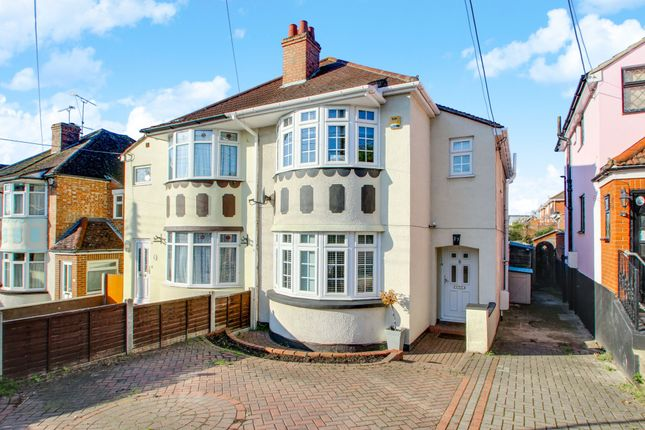 Thumbnail Semi-detached house for sale in Clarence Road, Benfleet