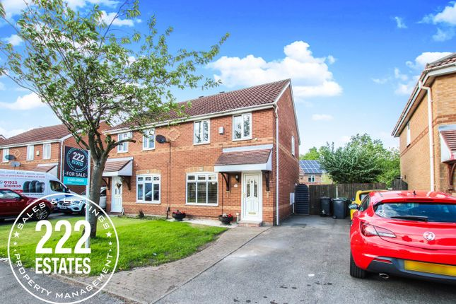 Thumbnail Semi-detached house for sale in Greenwood Crescent, Warrington
