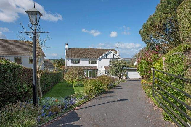 4 bed detached house for sale in Brynview Close, Reynoldston, Swansea