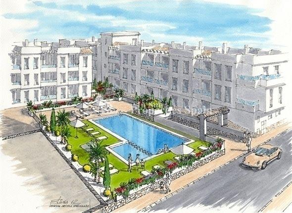 1 Bedroom Apartment In Torrevieja, Alicante, Spain