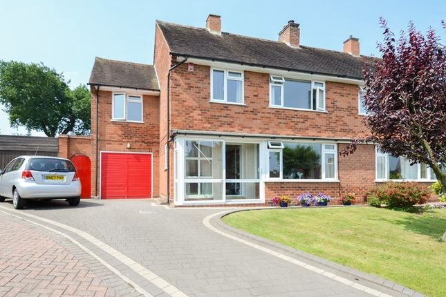 Thumbnail Semi-detached house for sale in Mimosa Close, Bournville Village Trust, Selly Oak