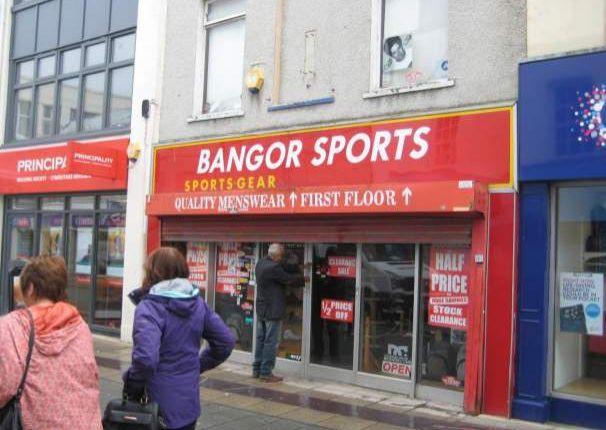 Thumbnail Retail premises to let in 218 High Street, Bangor