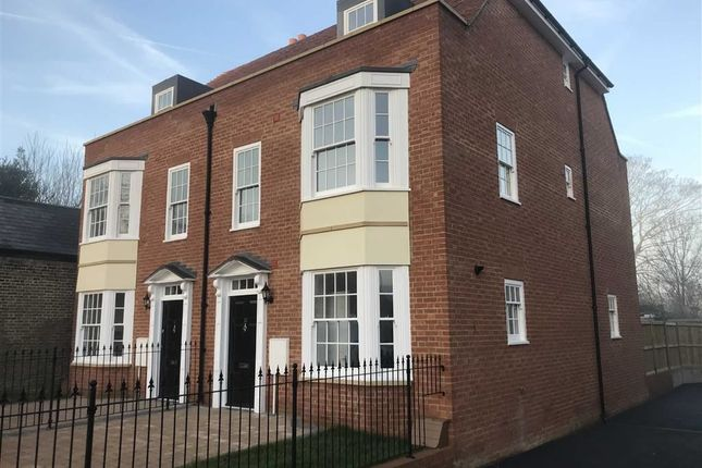 Thumbnail Semi-detached house for sale in Mansion Row, Brompton, Gillingham