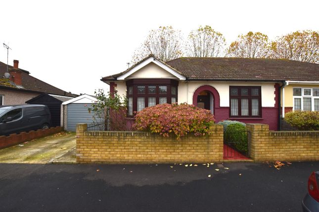 Thumbnail Semi-detached bungalow for sale in Mayfair Avenue, Chadwell Heath, Romford