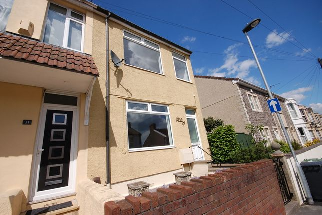 Thumbnail Semi-detached house for sale in Laurel Street, Kingswood, Bristol
