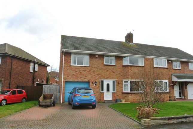 Thumbnail Semi-detached house for sale in Moselle Drive, Churchdown, Gloucester
