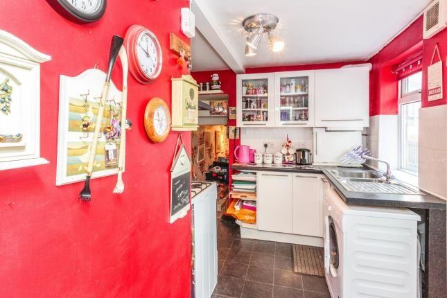 Kitchen of Peter Street, Blackpool, Lancashire, . FY1